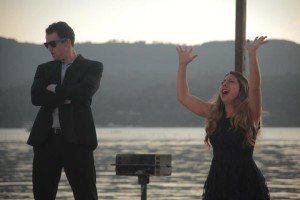 "Devin McNulty and Kate Jones in ""Babe City, U.S.A.!"" (Photo: Daniel James Burke)"