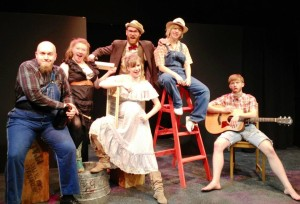 "Professor Digby and his Jug Band in ""Hot Mess"""