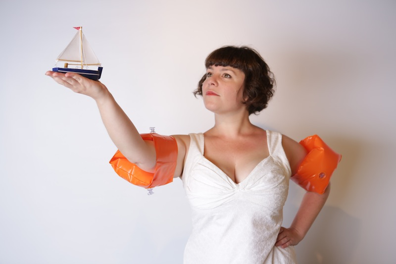 "Megan Cohen says ""Take Me Home"" for the Odyssey with a Tiny Boat"