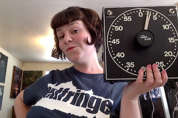 Me, with... a timer. #Relevant
