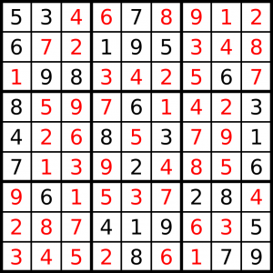 This is the same Sudoku puzzle, but fully solved. (Spoiler alert, I guess?)